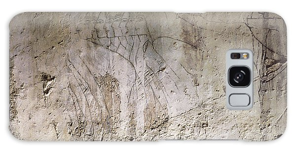 Painting West Wall Tomb Of Ramose T55 - Stock Image - Fine Art Print - Ancient Egypt Galaxy Case