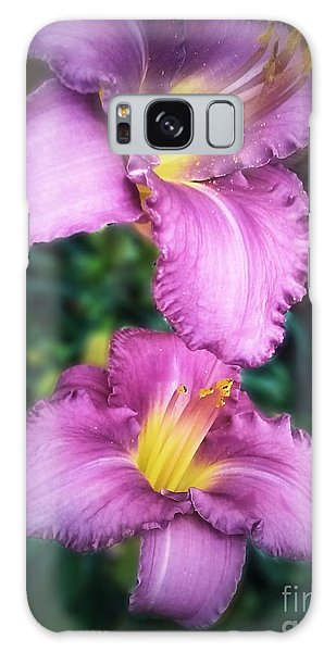 Pair Of Lilies Galaxy Case