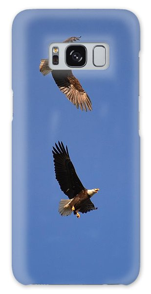 Pairs In Flight And Life Galaxy Case
