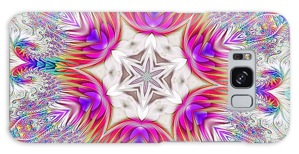 Paisley Love Kaleidoscope Galaxy Case