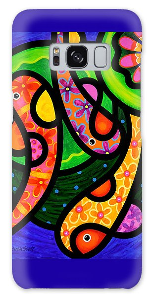 Paisley Pond - Vertical Galaxy Case