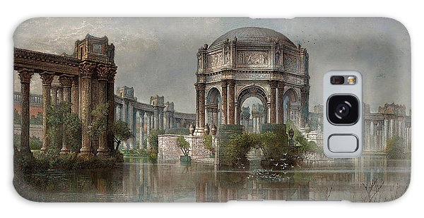 Central America Galaxy Case - Palace Of Fine Arts And The Lagoon by Edwin Deakin