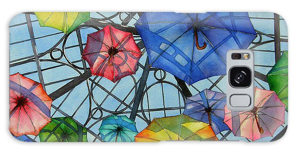 Palazzo Parasols Galaxy Case by Judy Mercer