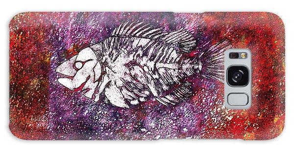 Paleo Fish Galaxy Case