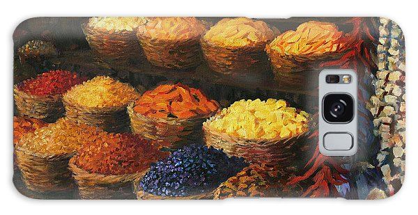 Basket Galaxy Case - Palette Of The Orient by Kiril Stanchev