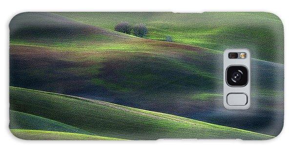 Layers Galaxy Case - Palette Of Winter Dusk by Marek Boguszak