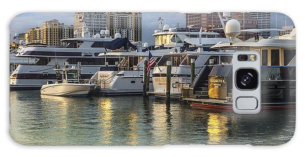 Flagler Galaxy Case - Palm Beach Marina by Debra and Dave Vanderlaan