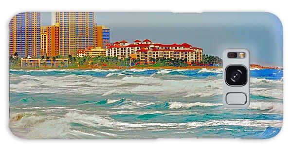 Palm Beach Post Card Galaxy Case