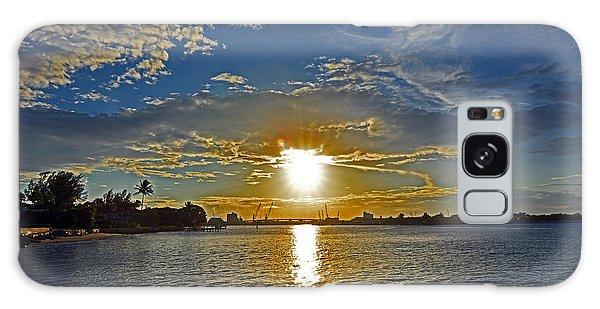 Palm Beach Sundown Galaxy Case
