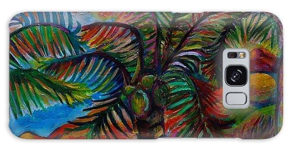Palm Canopy Galaxy Case