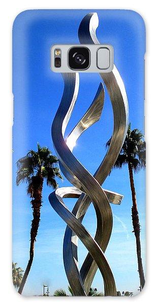 Palm Desert Sculpture Galaxy Case by Randall Weidner