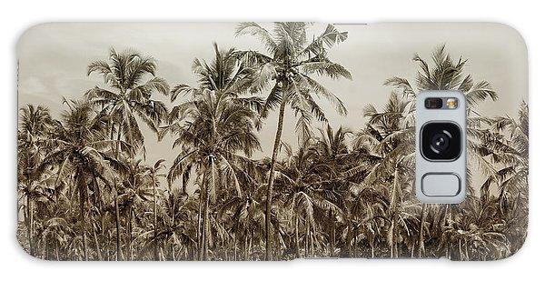 Palm Grove Galaxy Case