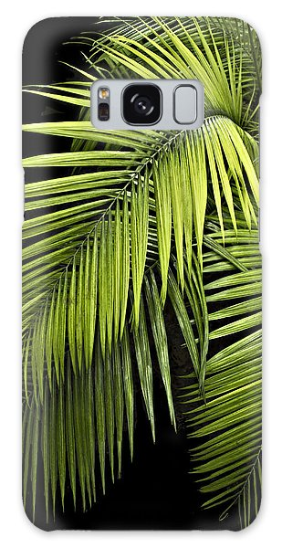 Palm Leaves Galaxy Case