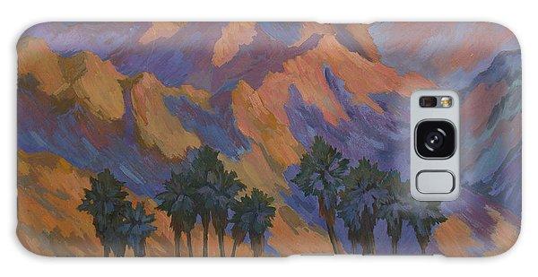Palm Oasis At La Quinta Cove Galaxy Case