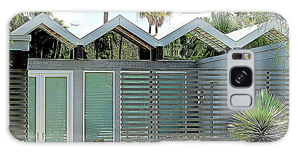 Palm Springs This Century Modern One Galaxy Case by Randall Weidner