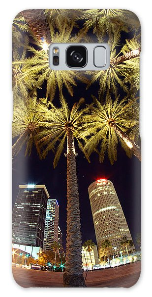 Palm Tree Fireworks Galaxy Case by Daniel Woodrum
