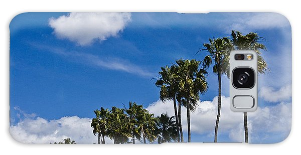 Palm Trees In San Diego California No. 1661 Galaxy Case
