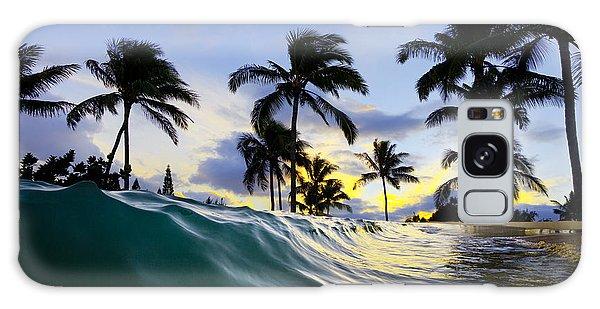 House Galaxy Case - Palm Wave by Sean Davey