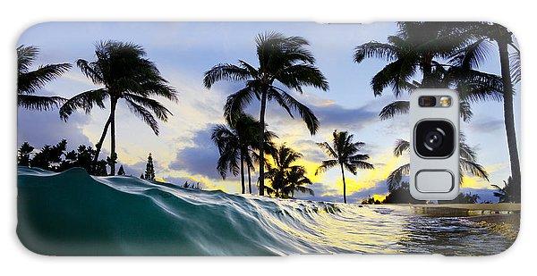 Sea Galaxy Case - Palm Wave by Sean Davey