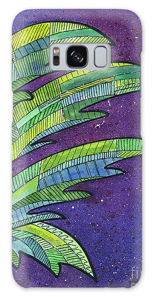 Palms Against The Night Sky Galaxy Case