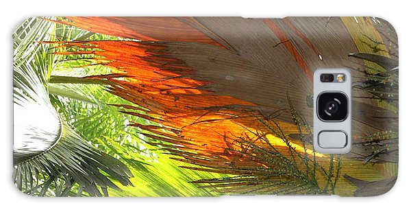 Galaxy Case featuring the photograph Palms by Debbie Cundy