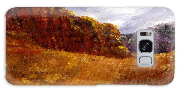 Palo Duro Canyon Texas Hand Painted Art Galaxy Case