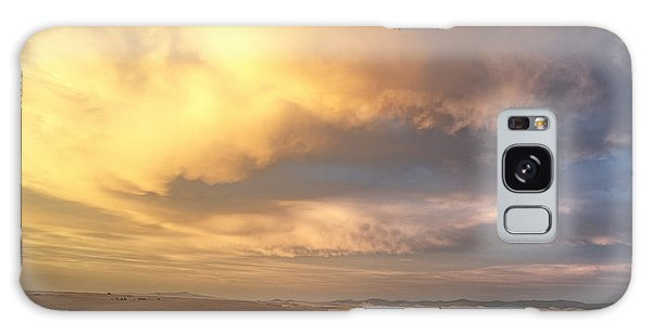 Palouse August Sunset Galaxy Case