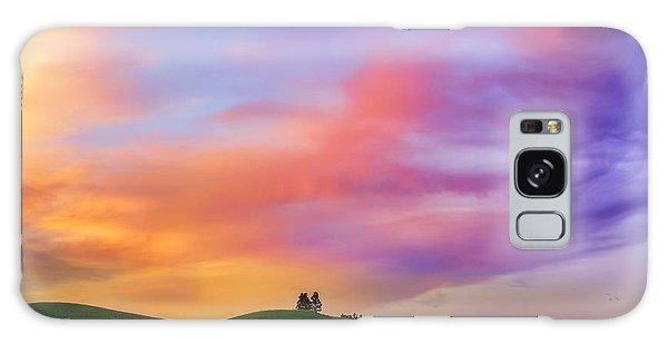 Palouse Cirrus Rainbow Galaxy Case