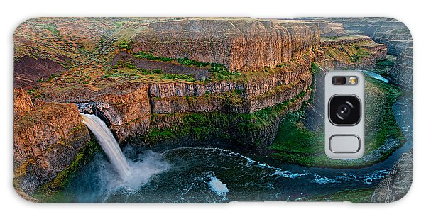Palouse Falls Sunset Galaxy Case