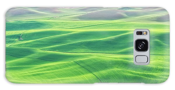 Palouse In Spring Galaxy Case