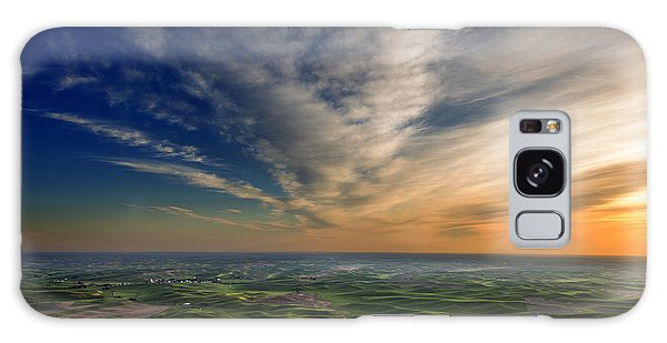 Palouse Sunset Galaxy Case