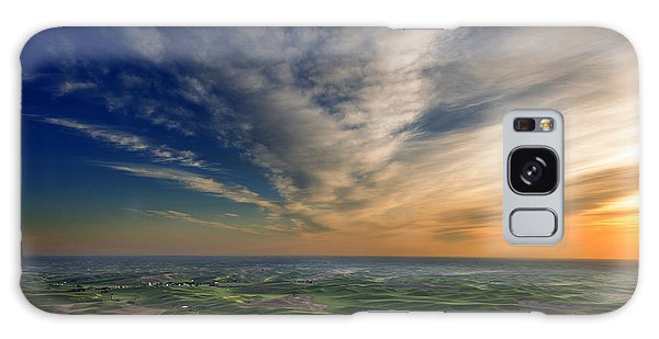 Palouse Sunset Galaxy Case