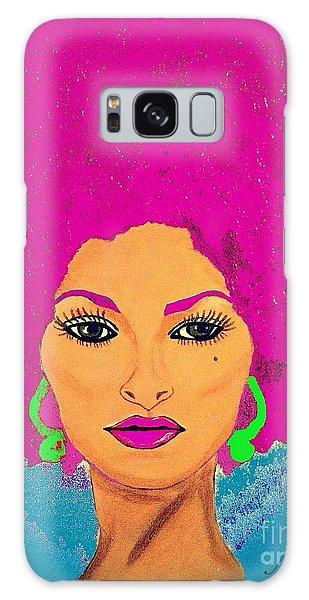 Pam Grier Bold Diva C1979 Pop Art Galaxy Case