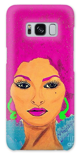 Pam Grier Bold Diva C1979 Pop Art Galaxy Case