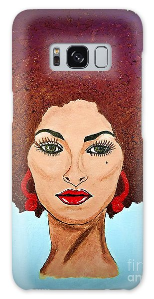 Pam Grier C1970 The Original Diva Galaxy Case
