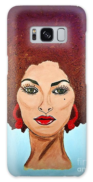 Pam Grier C1970 The Original Diva Galaxy Case