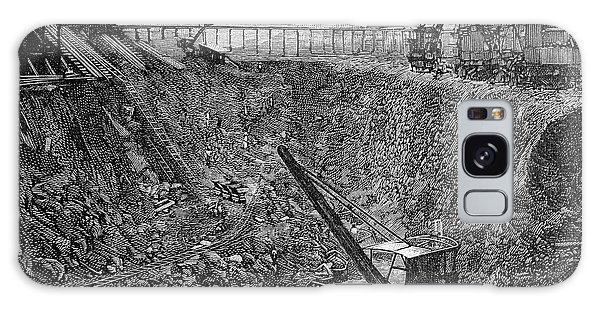 Excavator Galaxy Case - Panama Canal Construction by Bildagentur-online/th Foto/science Photo Library