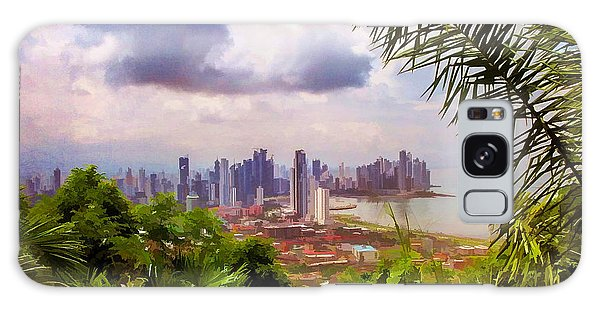 Panama City From Ancon Hill Galaxy Case