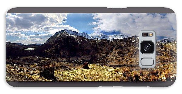 Panaramic Snowdonia Mountains Galaxy Case