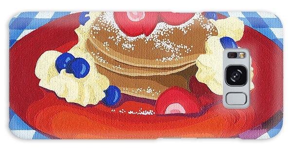 Pancakes Week 10 Galaxy Case by Meg Shearer