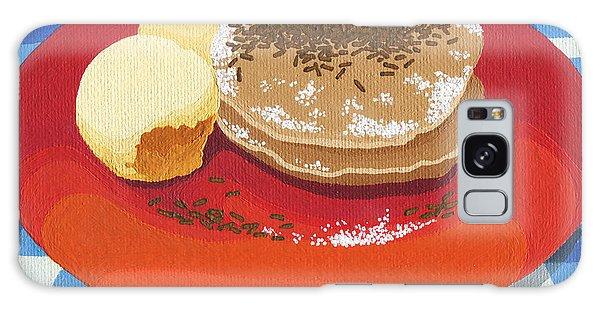 Pancakes Week 15 Galaxy Case by Meg Shearer