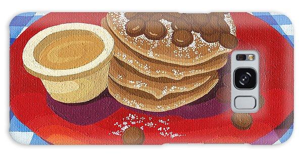 Pancakes Week 4 Galaxy Case by Meg Shearer