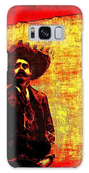Pancho Villa Galaxy Case by Joan  Minchak