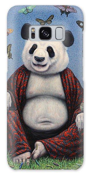 Panda Buddha Galaxy Case