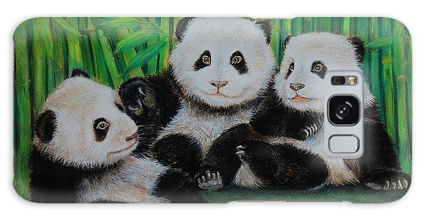 Panda Cubs Galaxy Case