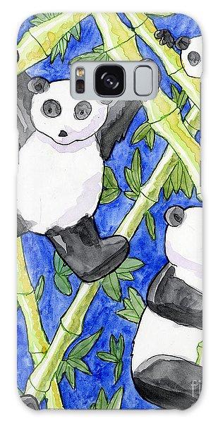 Panda Cubs Galaxy Case