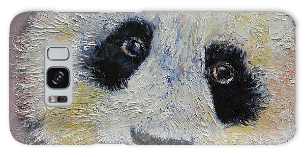 Collectibles Galaxy Case - Panda Smile by Michael Creese