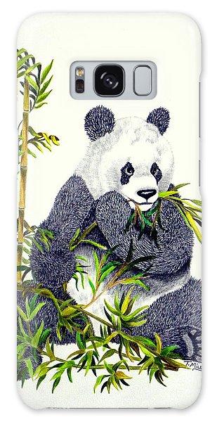 Panda  Galaxy Case by Terri Mills