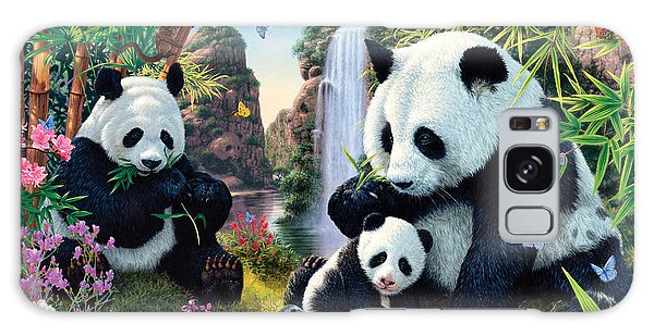 Panda Valley Galaxy Case by Steve Read