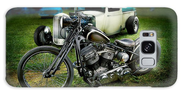 Panhead Harley And Ford Pickup Galaxy Case